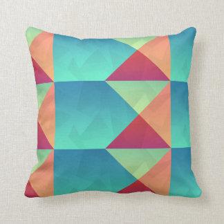 Almofada Travesseiro geométrico das cores