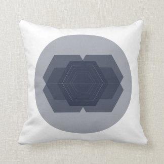 Almofada Travesseiro geométrico do hexágono
