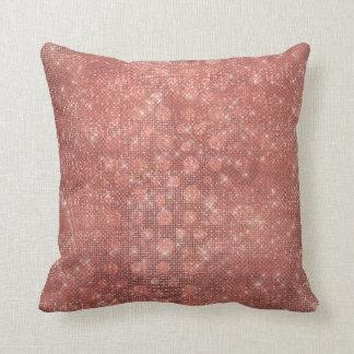 Almofada Travesseiro Glam dos pontos da faísca do brilho