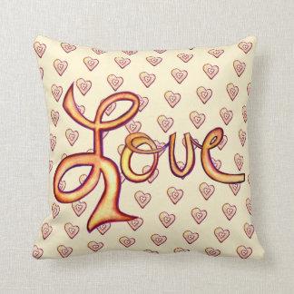 Almofada Travesseiro Glamourous cor-de-rosa da palavra do