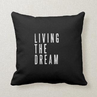 Almofada Travesseiro inspirador da decoração da sala de