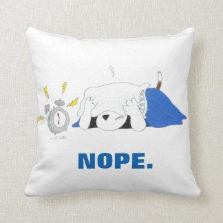 Almofada Travesseiro instantâneo da série NOPE