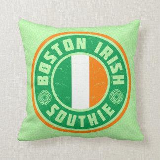 Almofada Travesseiro irlandês de Southie do americano de