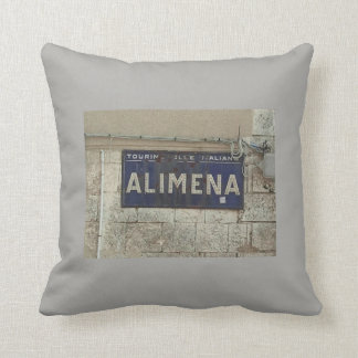 Almofada Travesseiro italiano rústico do país de Alimena