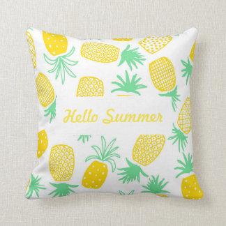 Almofada Travesseiro legal do abacaxi