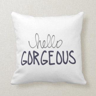 Almofada Travesseiro lindo do azul olá! para ele