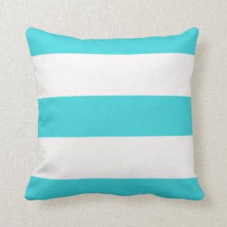 Almofada travesseiro listrado listra do algodão das listras