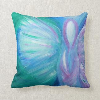 Almofada Travesseiro lunático cura da arte do anjo azul