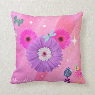 Almofada Travesseiro lunático ESCONDIDO da flor do