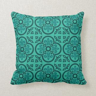 Almofada Travesseiro medieval decorativo azul do teste