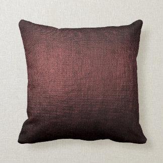 Almofada Travesseiro metálico da escova Glam preta Noir de