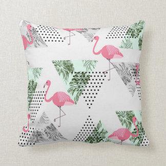 Almofada Travesseiro moderno com teste padrão tropical