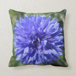 Almofada Travesseiro - o botão do solteiro azul do
