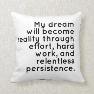 Almofada Travesseiro para sonhadores: Citações inspiradas