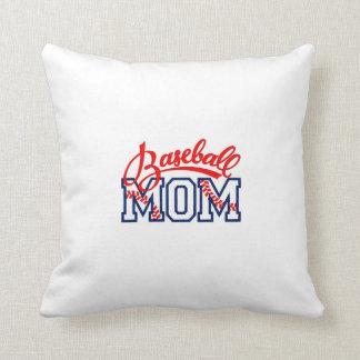 Almofada travesseiro para uma mamã do basebol