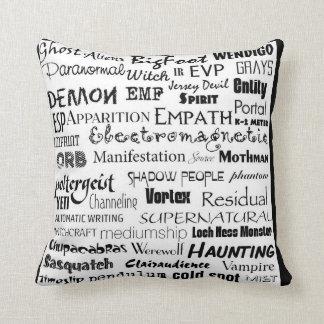 Almofada Travesseiro Paranormal