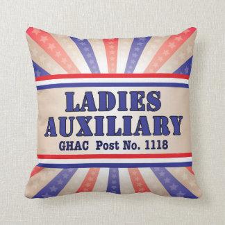 Almofada Travesseiro patriótico auxiliar das senhoras por