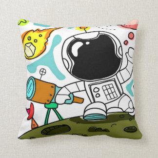 Almofada Travesseiro pequeno do astronauta