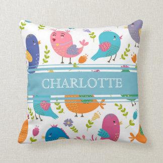 Almofada Travesseiro personalizado do Birds of a Feather