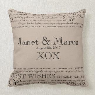 Almofada Travesseiro personalizado dos parabéns