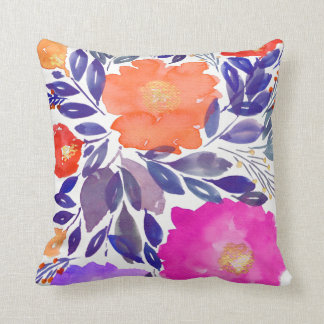 Almofada travesseiro pintado do feriado das flores