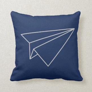 Almofada travesseiro plano de papel