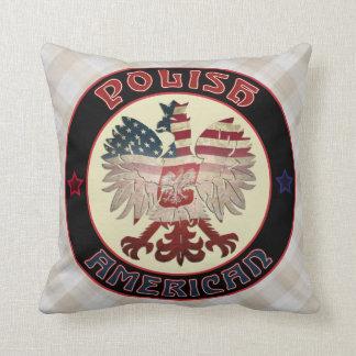 Almofada Travesseiro polonês de Eagle do americano