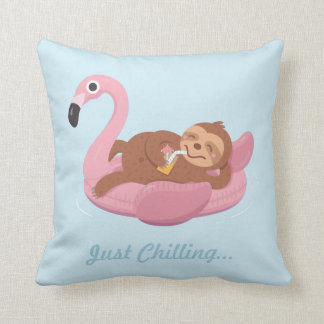 Almofada Travesseiro preguiçoso bonito do verão do