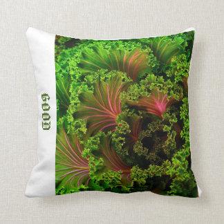 Almofada Travesseiro projetado alface