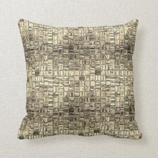 Almofada Travesseiro quadrado mínimo do mosaico da grafite
