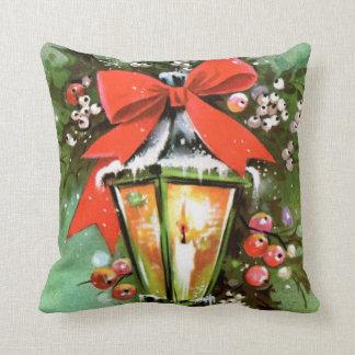Almofada Travesseiro retro da decoração da casa da lâmpada
