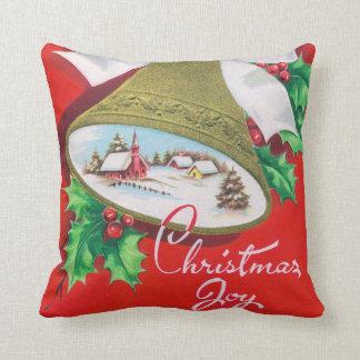 Almofada Travesseiro retro da decoração da casa do sino de