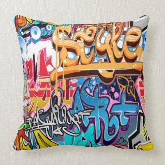 Almofada Travesseiro retro do escritório domiciliário da