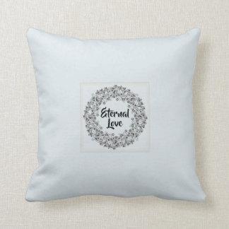 Almofada Travesseiro romântico do amor eterno com quadro do