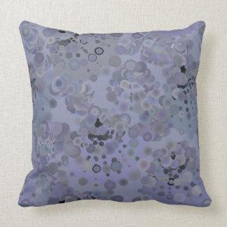 Almofada Travesseiro roxo das bolhas