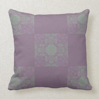 Almofada Travesseiro roxo do quadrado de Dreadlocks