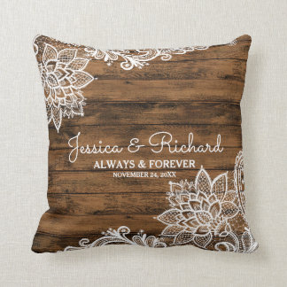 Almofada Travesseiro rústico da madeira do celeiro e do