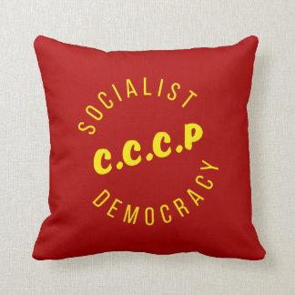 Almofada Travesseiro socialista da democracia de CCCP