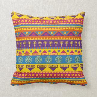 Almofada Travesseiro tribal mexicano do estilo