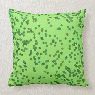 Almofada Travesseiro verde dos pontos