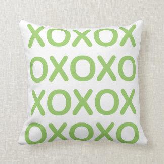 Almofada Travesseiro verde e branco de XOXO