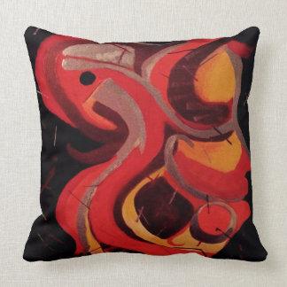 Almofada Travesseiro vermelho de Cockatequila grande