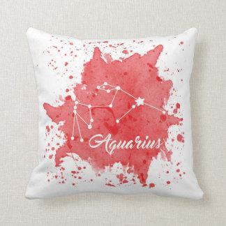 Almofada Travesseiro vermelho do Aquário
