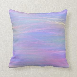 Almofada Travesseiro Wispy do arco-íris