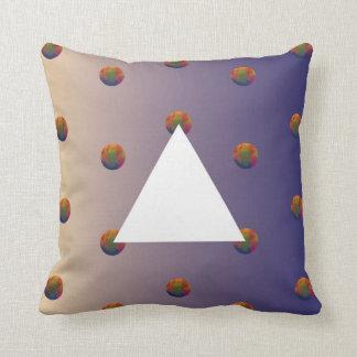 Almofada Travesseiros coloridos do espaço