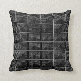 Almofada Travesseiros Decoração-Macios brancos pretos