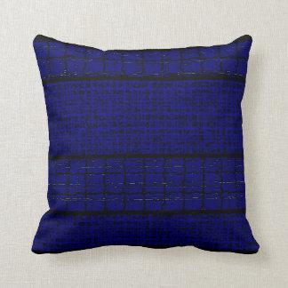 Almofada Travesseiros Decoração-Macios do preto azul da