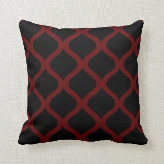 Almofada Travesseiros Decoração-Macios modernos vermelhos