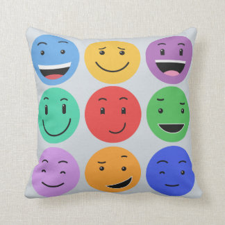 Almofada Travesseiros decorativos bonitos dos smiley