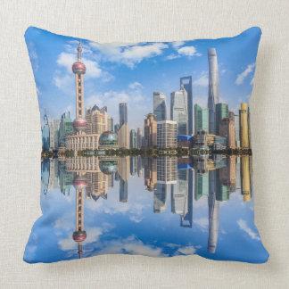 Almofada Travesseiros decorativos do beira-rio de Shanghai